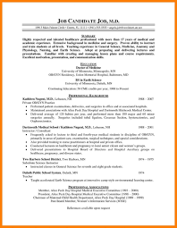Physician Cv Sample Resumessscanbiteco Resume Template Templates