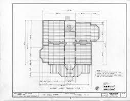 Floor Framing Design Second Floor Framing Plan John Milton Odell House Concord