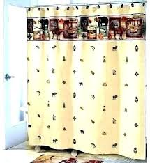 sports themed shower curtain curtains cool with this camping trip fabric vintage show