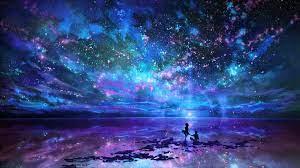 Anime Galaxy Wallpaper Desktop