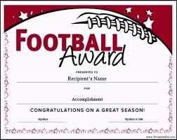 Football Certificate Template New Football Certificate Templates Free Elegant 48 Best Certificates