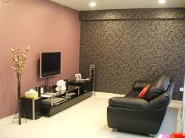 Wallpaper For Small Living Room Red Walls And Black Wallpaper For Chic Small Living Room Ideared