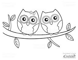 Small Picture Owls Couple Free Printable Coloring Page Free Printable Coloring