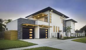 Garage doors for modern home styles - Sleek black Clopay Modern ...