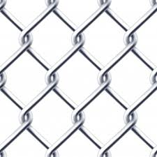chain link fence vector. Seamless Chain Wall On White Background Link Fence Vector