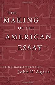 the next american essay a new history of the essay john d agata  the making of the american essay a new history of the essay