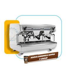 Máy pha cà phê Simonelli Appia II 2 Group thanh lý – TEMPUS COFFEE