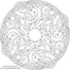Online Coloring Mandala N2gu Free Printable Easy Mandala Coloring