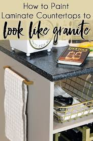 how to paint countertops to look like granite with rustoleum countertop transformations kit