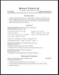 Teenage Resume Examples Classy High School Student Resume Examples For Jobs Sample Simple Job