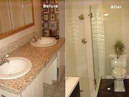 bathroom remodel before and after. Bathroom Remodel Before And After A