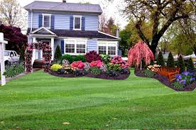 Front House Simple Landscape Design Simple Front Yard Garden Ideas Theradmommy Com