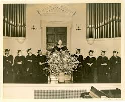 best commencement images spelman college w e b dubois at sisters chapel spelman college 70th birthday event 1938 photo by