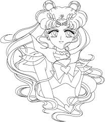 Small Picture Serenity Sailor Moon Coloring Pages Coloring Coloring Pages