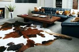 faux animal rug fortune cow rugs skin rug new faux animal hide for plans info zebra