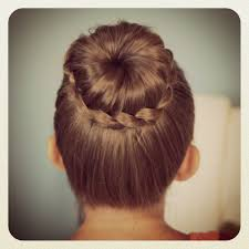 Lace Hair Style cute back to school hair cuts lace braided bun cute updo 7678 by wearticles.com
