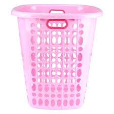 Pink Plastic Laundry Basket Enchanting Chevron Clothes Hamper Pink Laundry Hamper Laundry Basket Bin