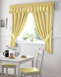Kitchen Curtain Designs Modern Kitchen Curtains Yellow Kitchen Curtains And Double Window
