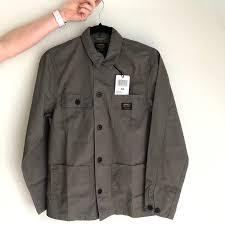 Carhartt Wip Michigan Shirt Jacket In Air Force Depop