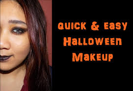 last minute makeup simple quick and easy witch makeup