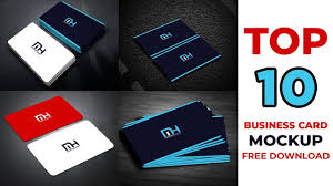 10 Free Business Cards Top 10 Business Card Mockup Free Download Free Download Business Card Mockup Maxpoint Hridoy