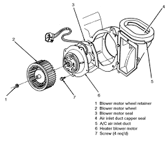 1994 lincoln mark 8 automechanic blower motor diagram