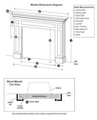 fireplace mantel return depth ilration