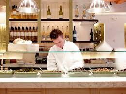restaurant open kitchen. Open Kitchen Restaurant Interior Design Fig Olive New York K
