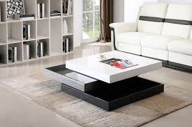 grey modern rotary coffee table by j m