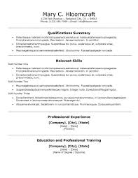 Traditional Resume Template Awesome 48 Basic Resume Templates
