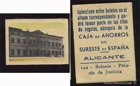 formato boletos rifa antigua postal estampa 144 boleto rifa caja aho comprar cromos