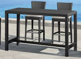 decoration breathtaking modern outdoor bar table 20 zuo anguilla height and chairs brisbane outdoor bar table