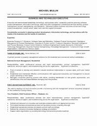 Product Development Resume Elegant Product Management Resume New