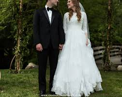 modest wedding dress etsy
