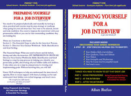 Preparing Yourself For A Job Interview Preparing Is Essential