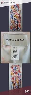 Donna Morgan Size Chart Pin On My Posh Picks
