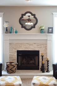 Mantel On Stone Fireplace Stacked Stone Fireplace By Jenna Halvorson Designs Fireplace
