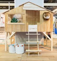 Mathy By Bols Treehouse Single Bed - Natural