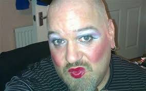 paul swan posts a manupmakeup selfie to raise money for prostate cancer uk
