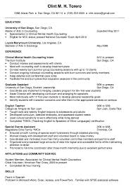 Resume For Counselor Pin By Latifah On Example Resume Cv Sample Resume Resume Free