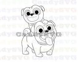 Puppy Dog Pals Svg Etsy