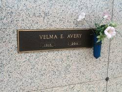 Velma Rouner Avery (1916-2011) - Find A Grave Memorial