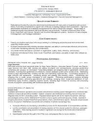 Administrative Assistant Resume Summary Template Design