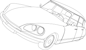 1969 citroen ds pallas illustration hmmmm could be quite a nice single