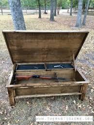 ... Hidden Gun Storage Coffee Table ...