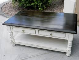 coffee table ideas on painting for wood tables blue regarding paint decor 5