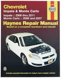 Amazon.com: Chevrolet Impala (2006-2011) and Monte Carlo (2006 ...