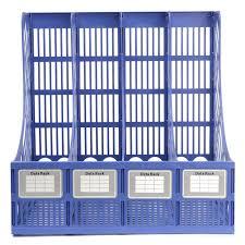 Wholesale Magazine Holders Multifunction Plastic Storage Hanger 100 Section Divider File Paper 20