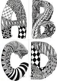 Zentangle Patterns For Beginners Classy Zentangle Pattern Ideas Hujimidansi