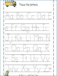 Traceable Free Printable Worksheets Letter Tracing Alphabet ...